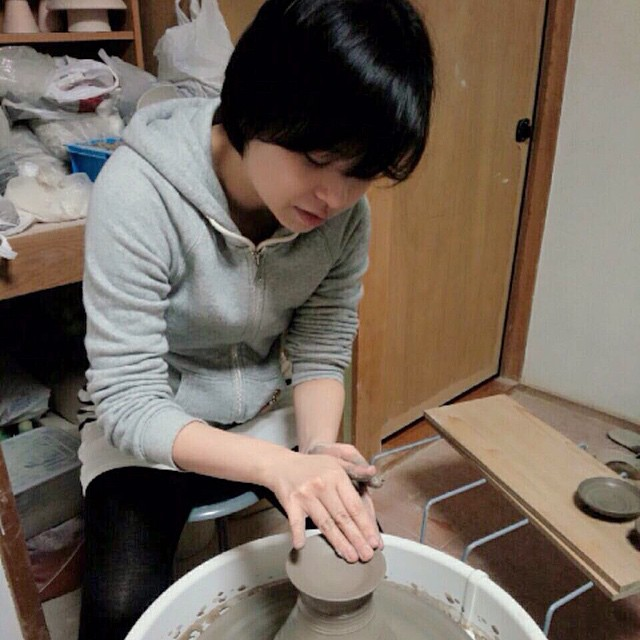 Learning the different ways and techniques to bring the clay to shape