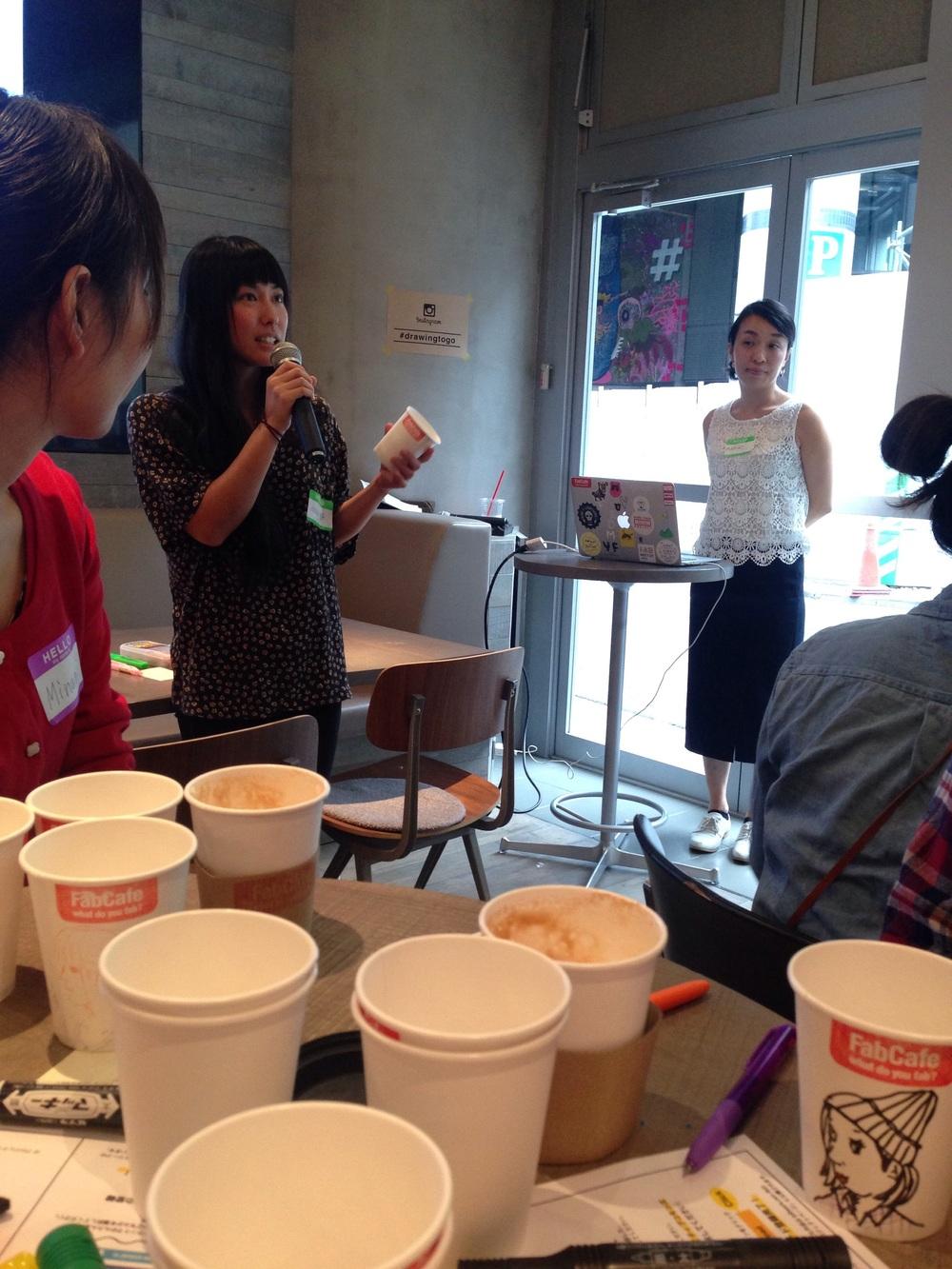 Mariya Suzuki on how she started drawing on coffee cups.