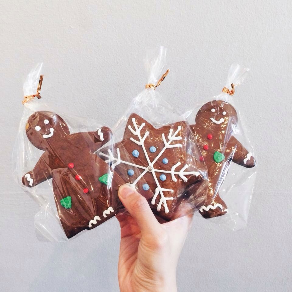 Gingerbread Men from  Bakers Well,  a local bakery in the heart of Katong, Singapore.