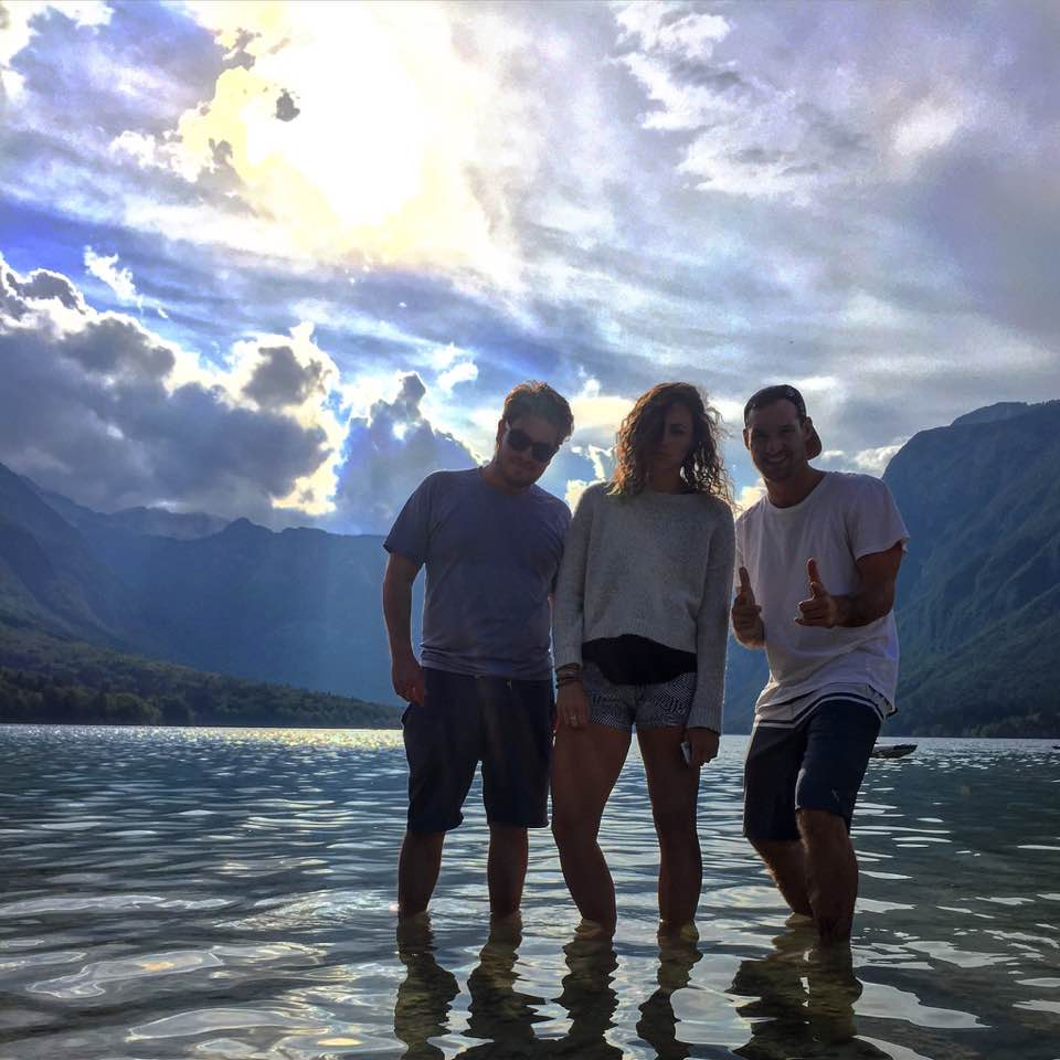 Modelling at Lake Bohinj