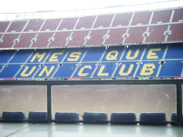 Visited Barcelona's primary place of worship - the FC Barcelona stadium. More than a club..