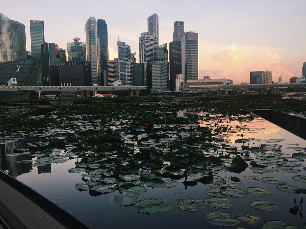 Singapore at sunrise