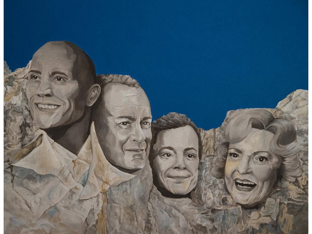 "The Rock, Tom Hanks, Jimmy Fallon & Betty White ""Rock the White House"" Classic Dirr"