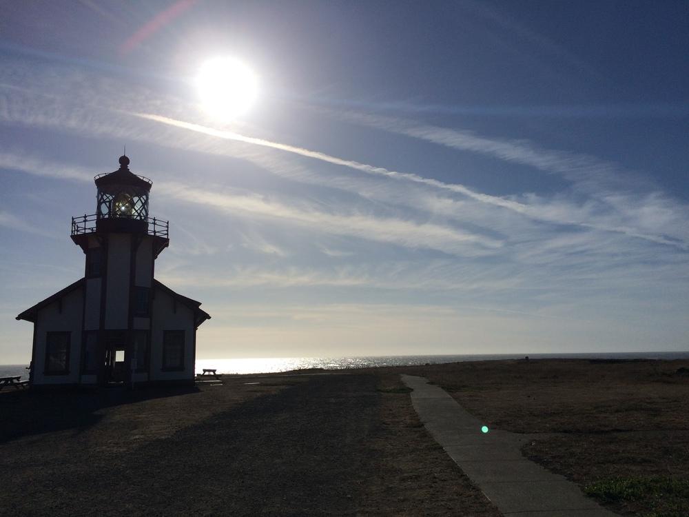 Pt. Cabrillo Light Station.