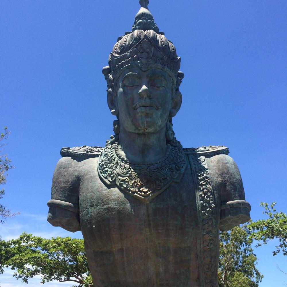 Vishnu Statue at Wishnu Garuda Cultural Center.