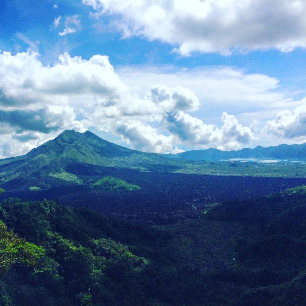 Mt. Batur Overlook.