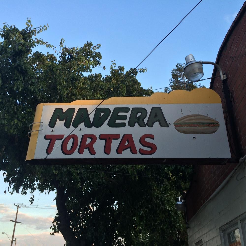 Madera Tortas!