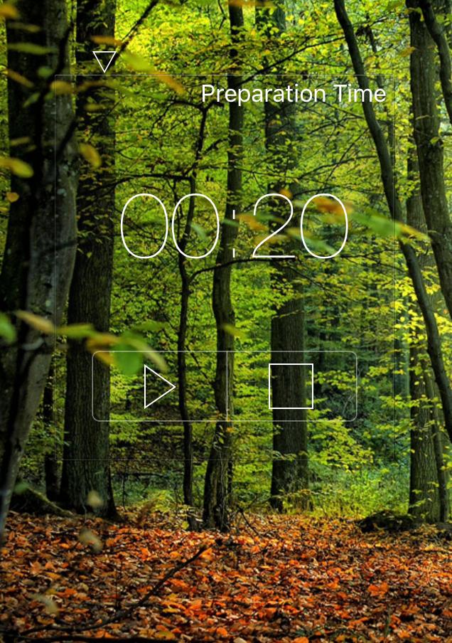The meditation app I use - Meditation Timer.