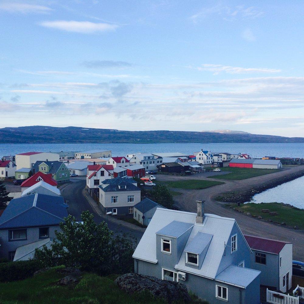 Holmavik town, Westfjords.