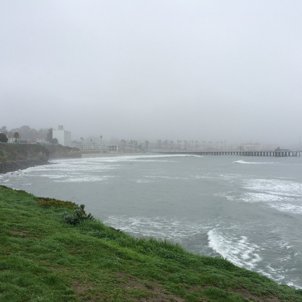 Rainy Santa Cruz views