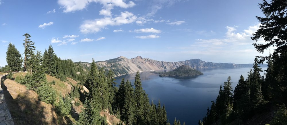 Crater Lake, in all it's glory.
