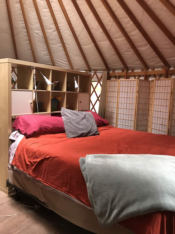 Yurt Living in Grass Valley.