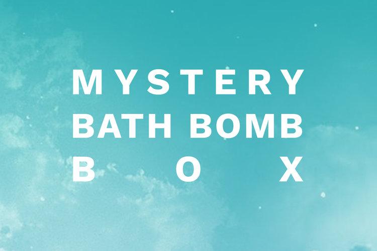 Mystery Bath Bomb Box — NESTINGZONE