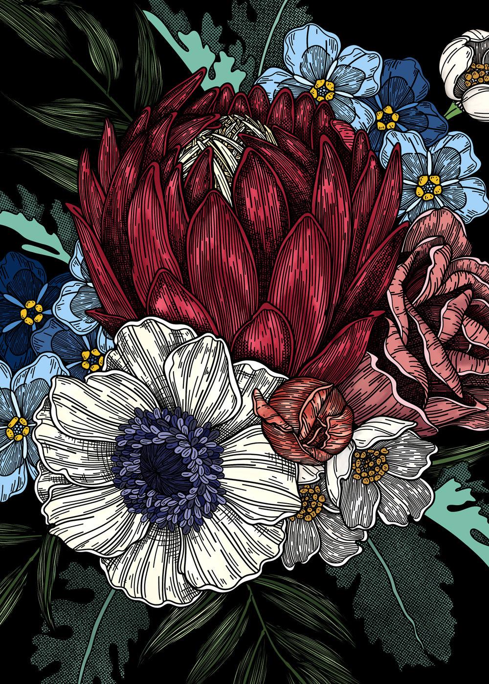Flower Arrangement Commission Nestingzone