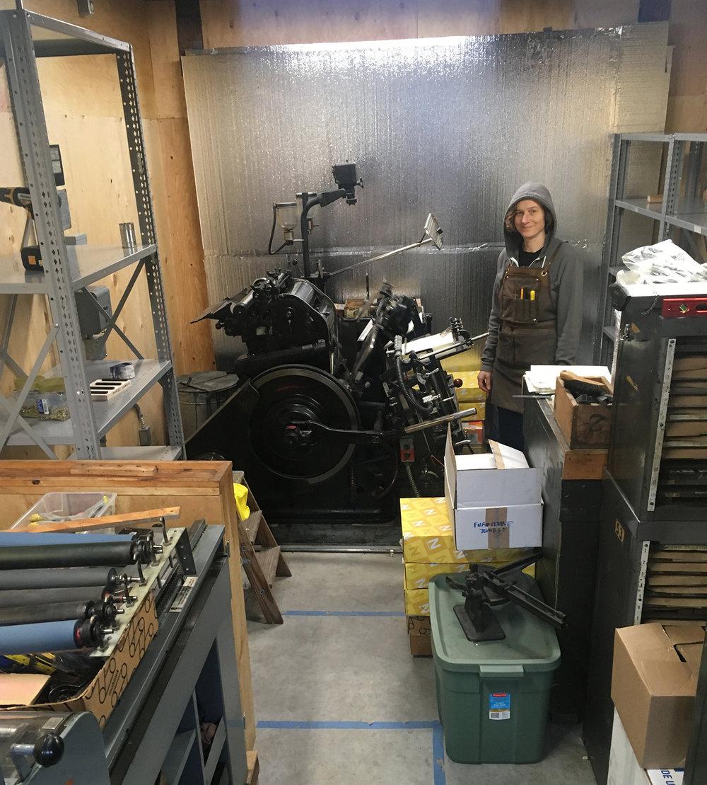 Garage Shop Shaping Up.jpg