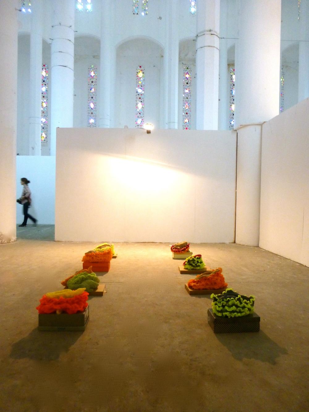 Ausstellungsansicht, Casablanca Biennale 2014