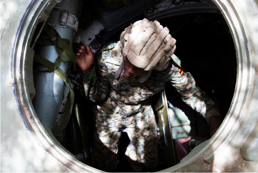 Meet the Tank Girls Taking on Al Shabab -