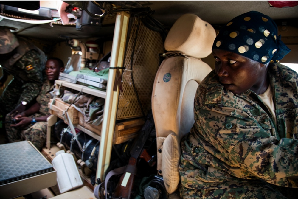 Female Peacekeepers Fight Militants and Prejudice in Somalia -