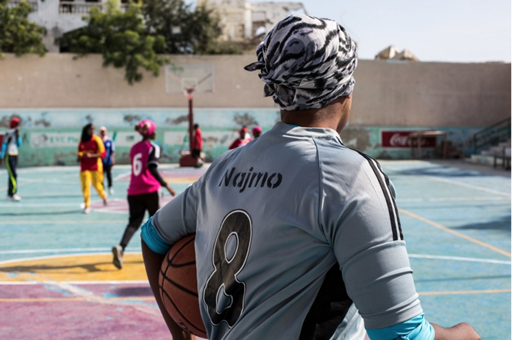 "With game of basketball, girls dribble round extremism in somalia | News deeply ""Women and Jihad"" series"