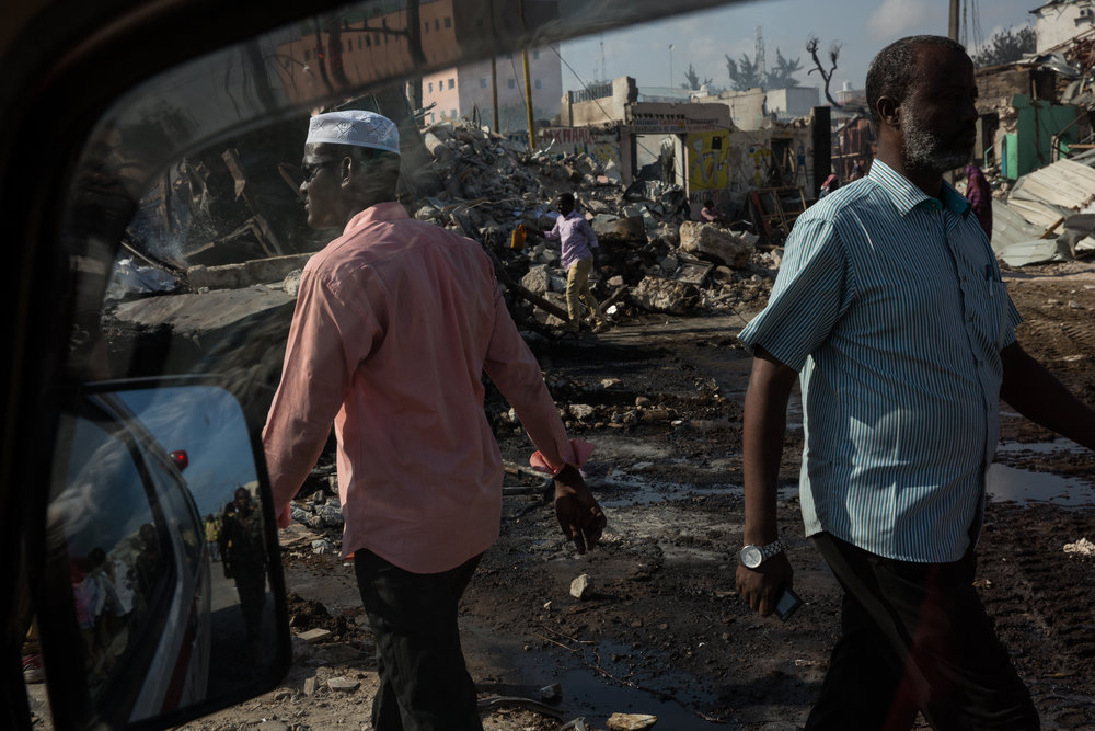 Questions Mount After Deadly Bombing in Somali Capital  -