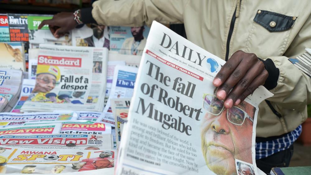 Mugabe Hangs Tough, But Zimbabwe's Army is Tightening the Noose -