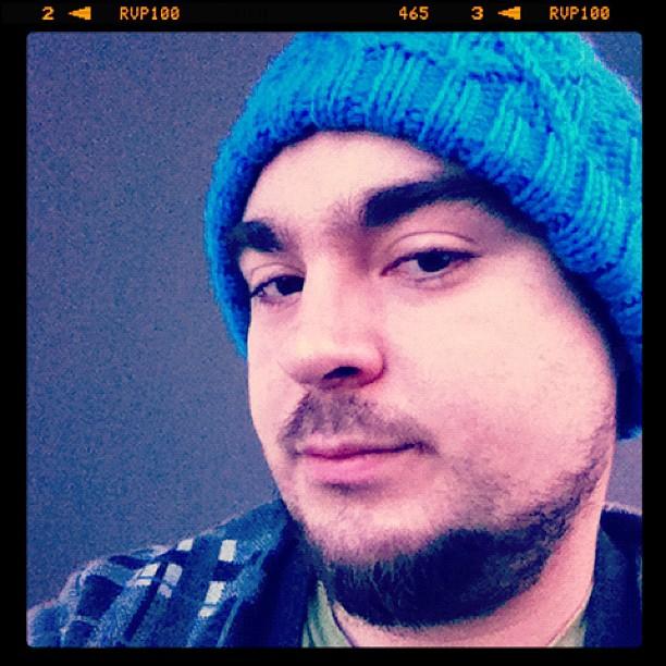 Selfie – Blue Beanie Day 2011