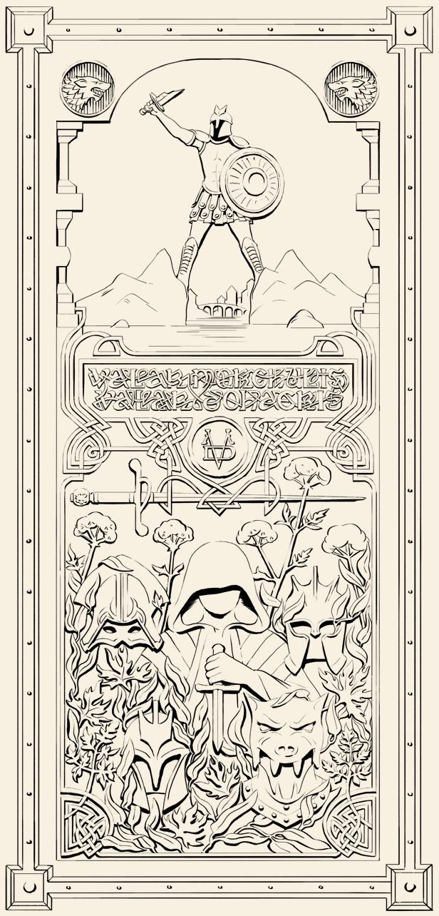 door-8-best.png  sc 1 st  Alice Duke & Door of Thrones \u2014 illustration by alice duke