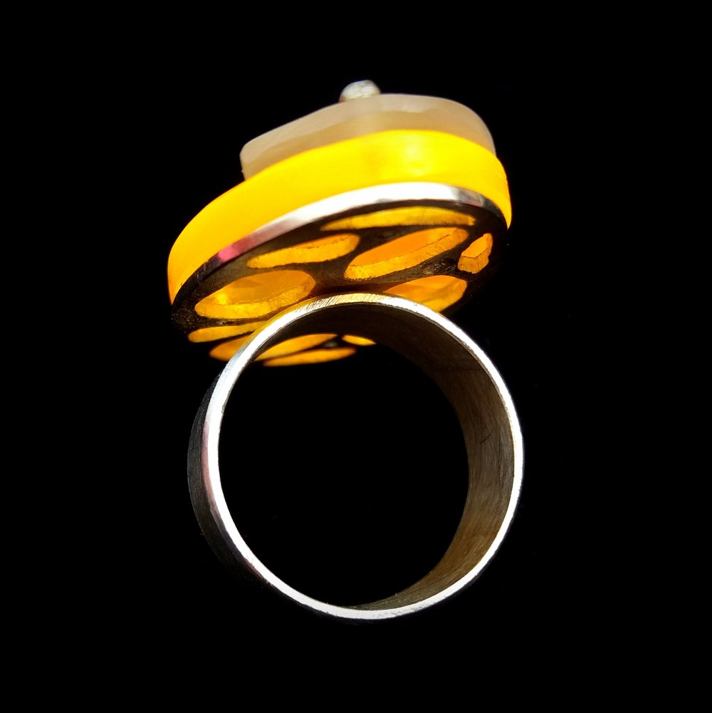 "Ring ""Physalis"""