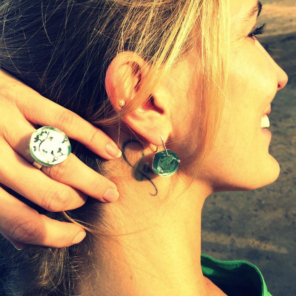 """Jewelryset """"Herbage"""""""