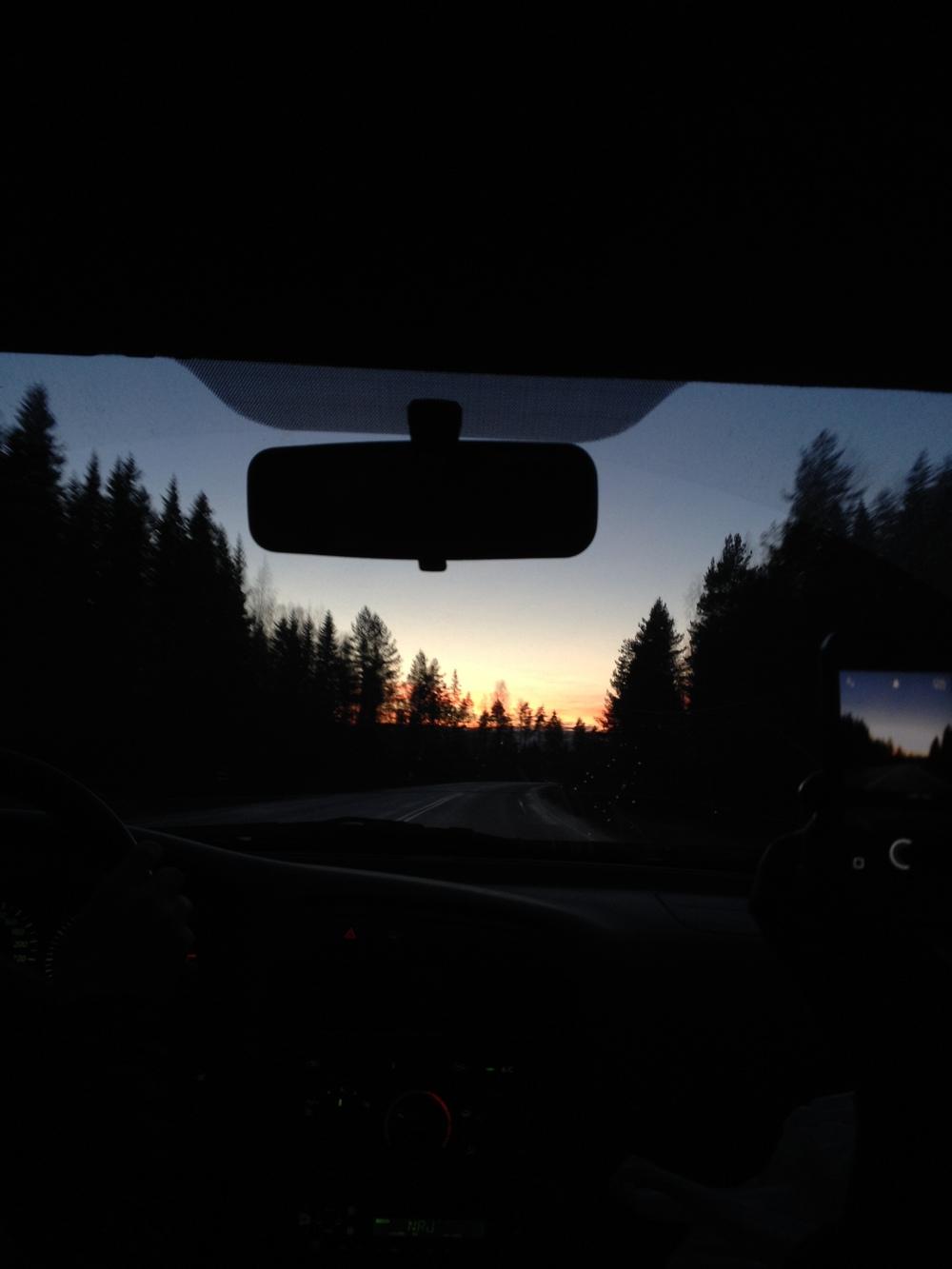 Matkalla Keuruulta Jyväskylään
