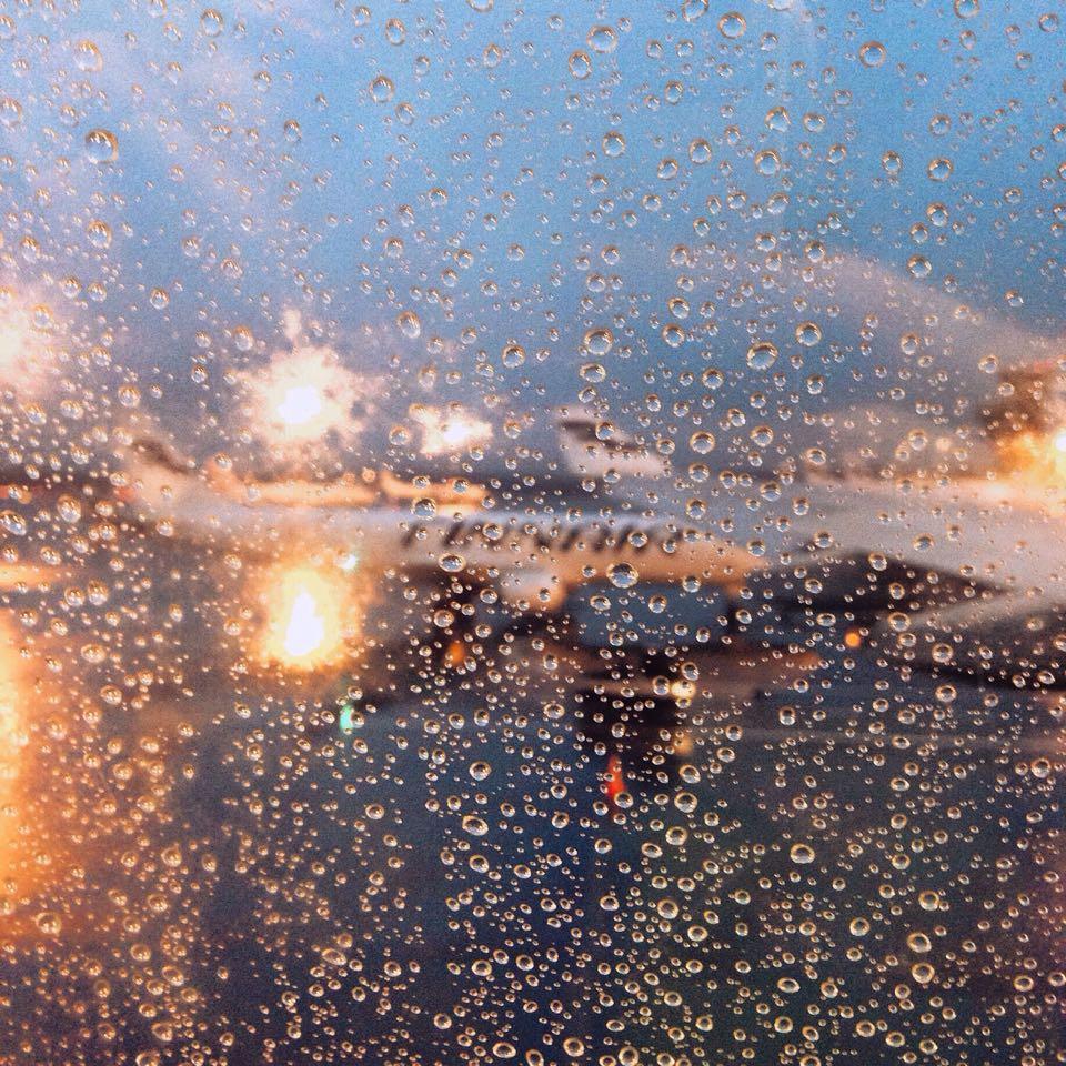Hei hei sateinen Suomi!