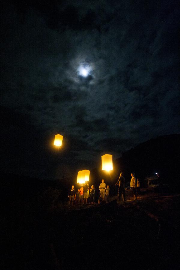 Silkkirenkaita Nun kylässä
