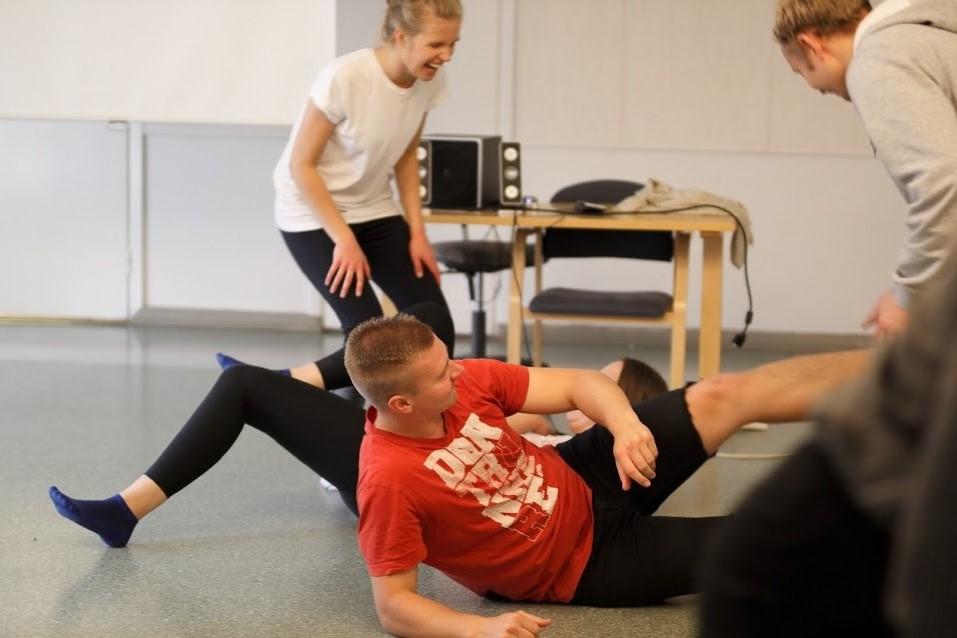 Aktioita varten ollaan harjoiteltu ahkerasti tansseja.