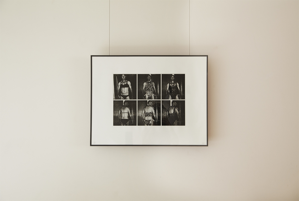 Summer Spree, 2012, stone lithograph 50x65cm, Edition of 25, commissioned by Galerie RDV and Musée de l'Imprimerie,Nantes