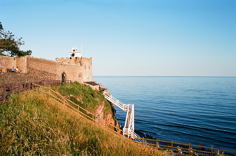 Clock Tower and Jacobs Ladder Sidmouth Devon.jpg