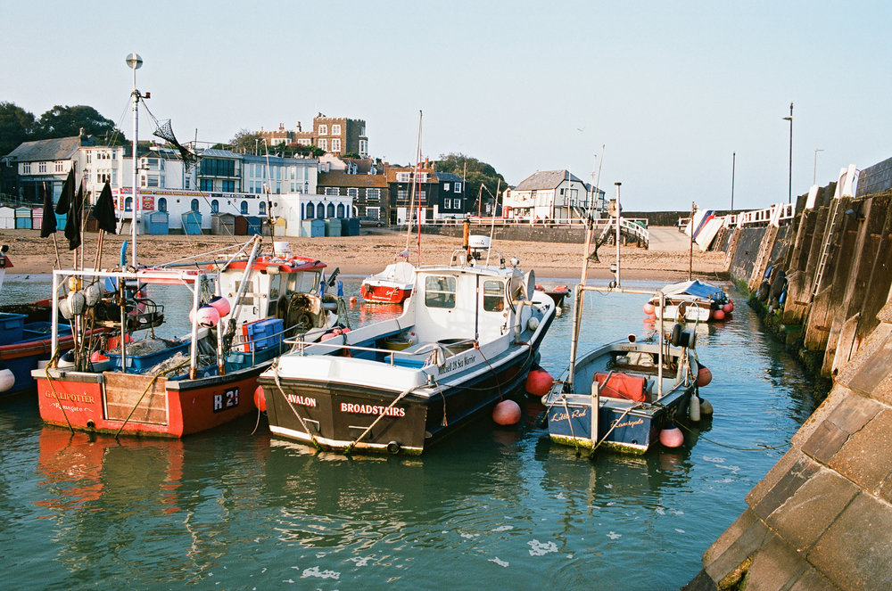 Boats in Broadstairs Harbour Kent.jpg