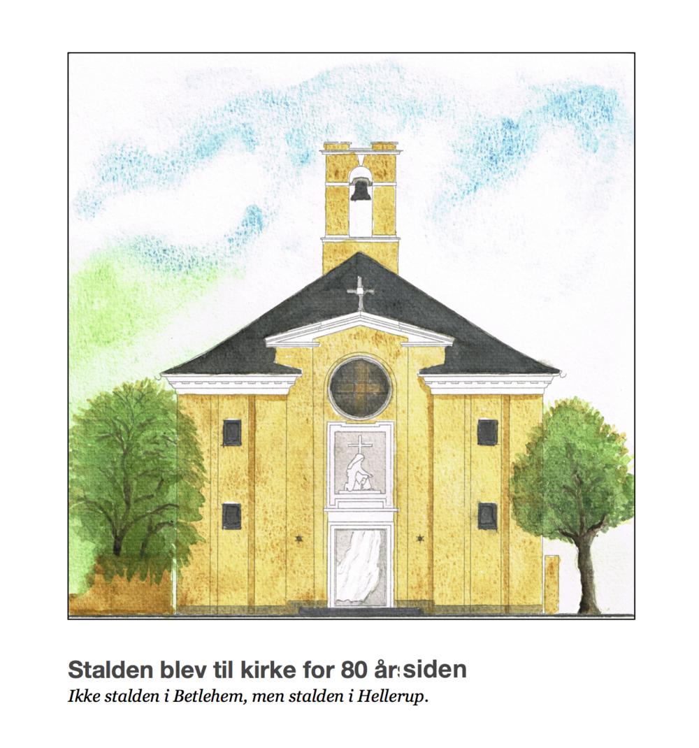 Bog kan købes i våbenhuset i Sankt Therese Kirke for 100 kr.