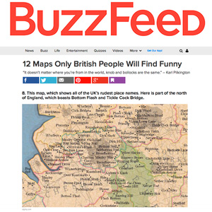 12 maps only British People Will Find Funny