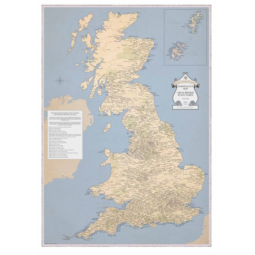 Stgs marvellous maps stgs marvellous map of great british place names gumiabroncs Gallery