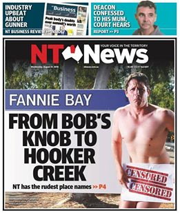 NT News front cover Aug 2016.jpg
