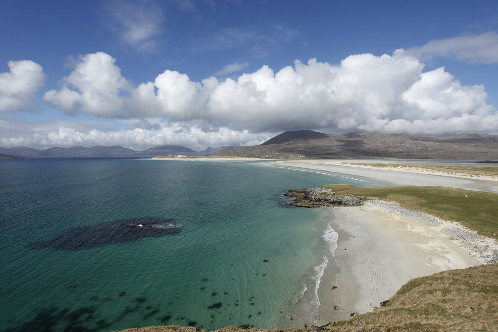 Looking towards Luskentyre from Seilebost on the Isle of Harris, Outer Hebrides   (VisitScotland / Paul Tomkins, all rights reserved )