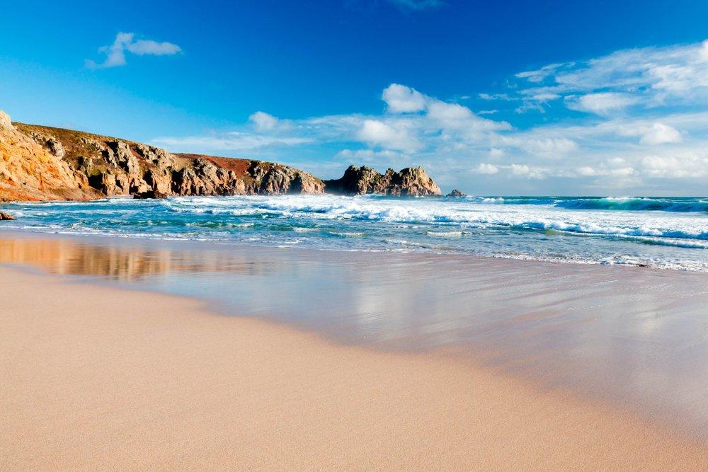 Porthcurno, Cornwall  (Ian Woolcock/Shutterstock)