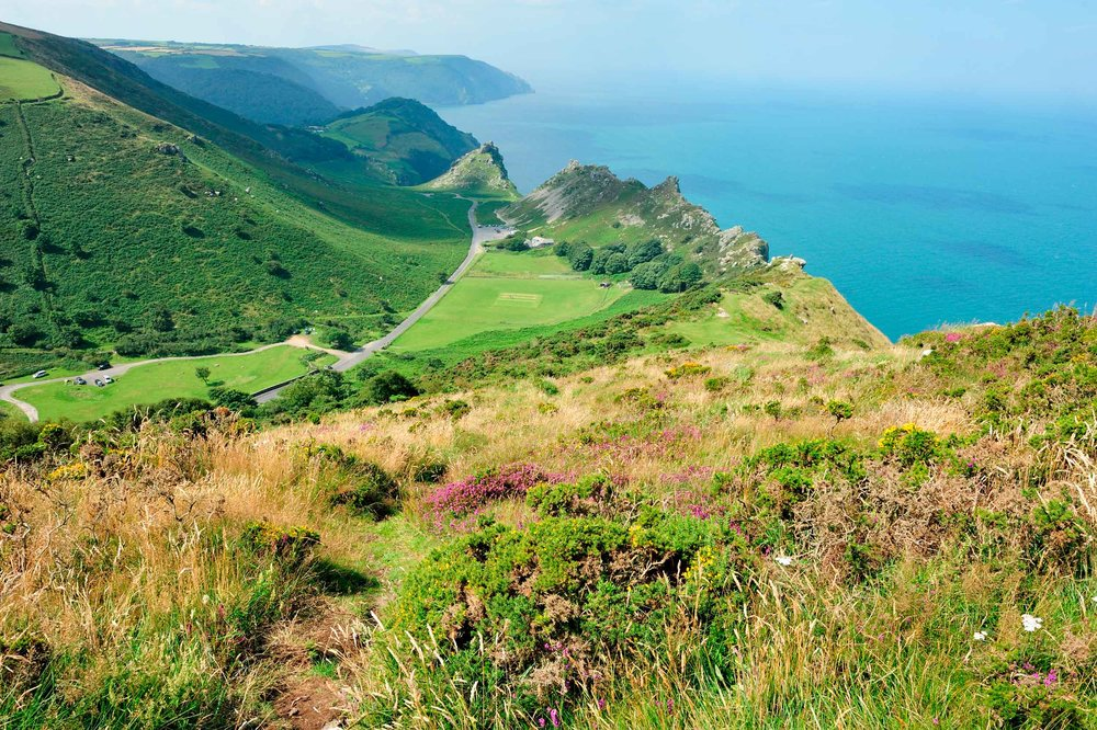 Valley of the Rocks, Exmoor, England  (Nathan Danks/Shutterstock)