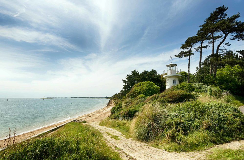 Lepe Lighthouse, New Forest, England  (Helen Hotson/Shutterstock)