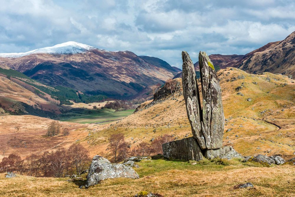 The Praying Hands of Mary, Glen Lyon, Scotland (mountaintreks/Shutterstock)