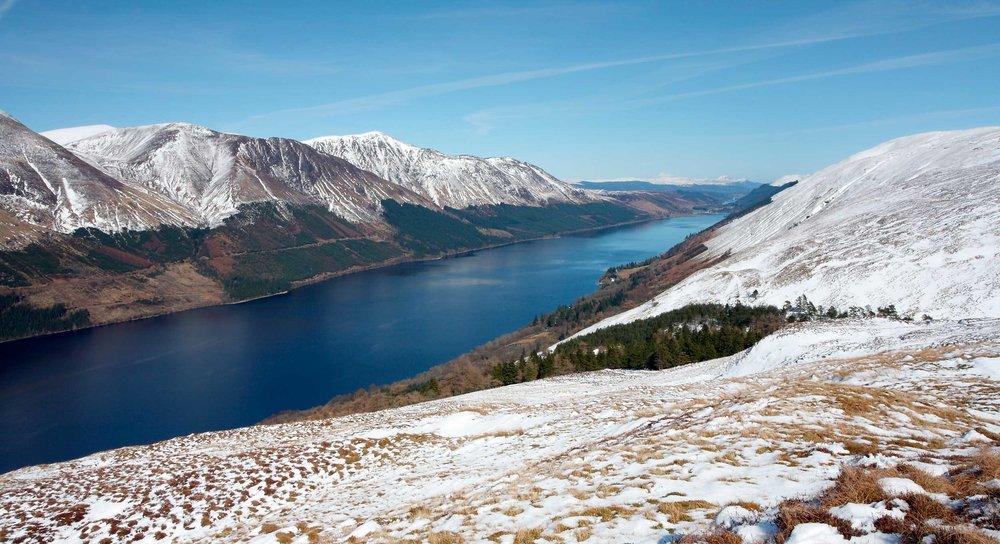 Loch Lochy, one of four lochs making up the Great Glen  (John A Cameron/Shutterstock)