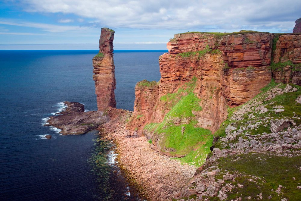 A splendid old man, Hoy, Orkney, Scotland  (David Woods/Shutterstock)