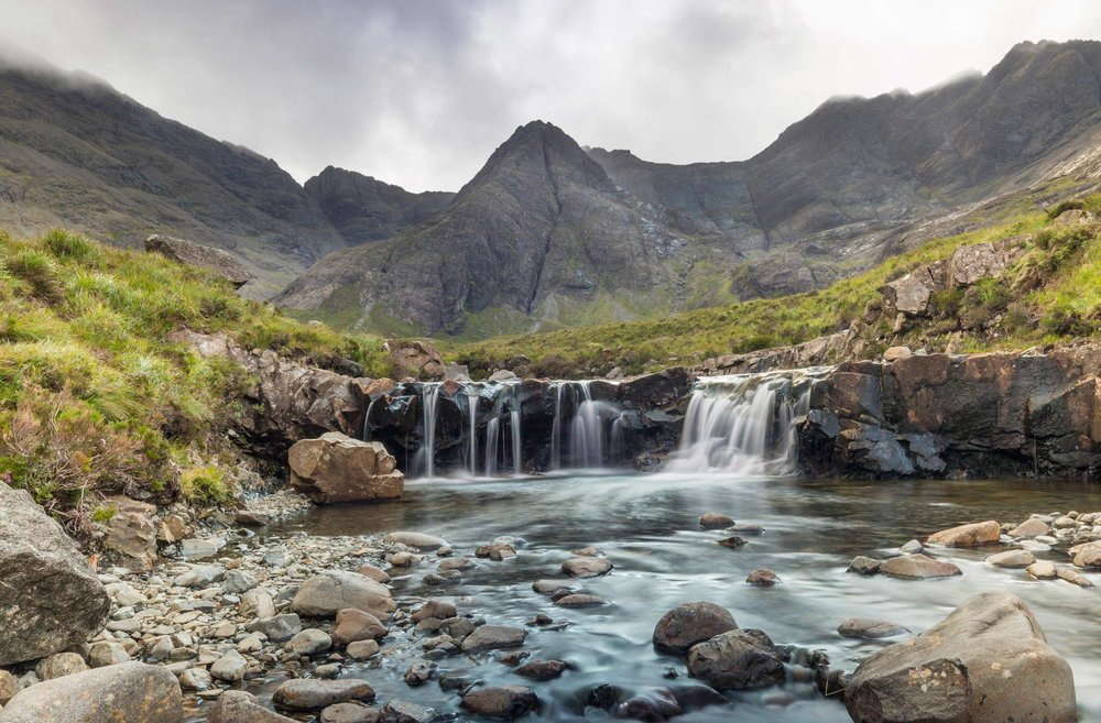The Fairy Pools, Skye - bit popular these days but they make for a good picture  (VisitScotland)