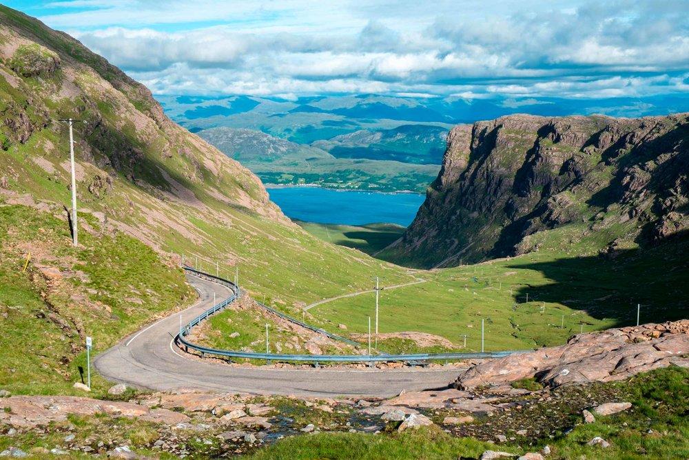 Bealach Na Bà, Britain's highest road climb, Wester Ross  (D K Grove/Shutterstock)