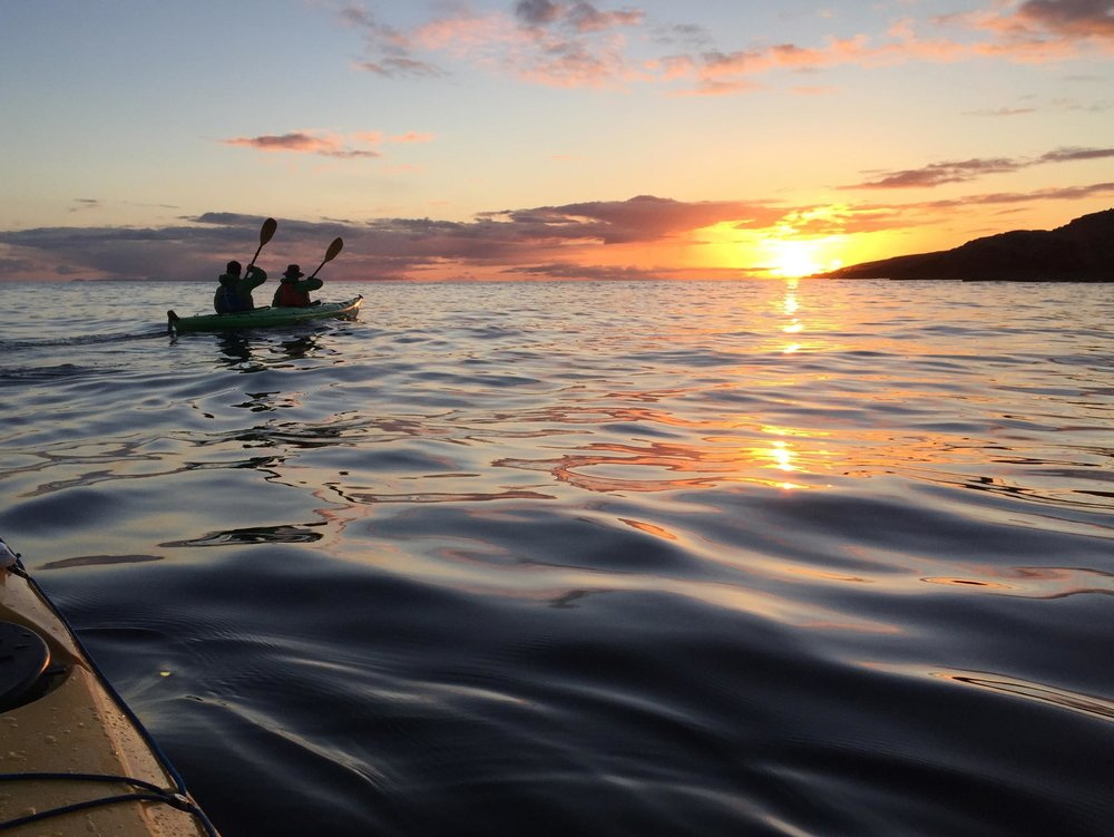 Sea kayaking around the Summer Isles, Northwest Highlands  (Humphrey Butler/Marvellous Maps)